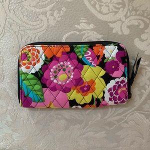 Vera Bradley VaVa Bloom Zip-Around Wallet/Wristlet